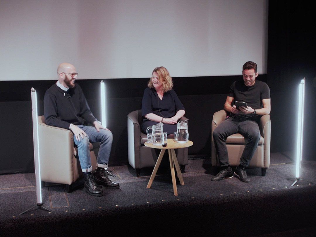 Dan Sudron founder of The Fucture Factory and Lucy Mann founder of Gunpowder Consulting and Small Sparks Theory Podcast talk about agency new business