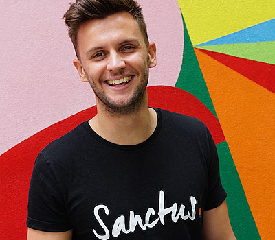 James Routledge founder of mental health consultancy Sanctus
