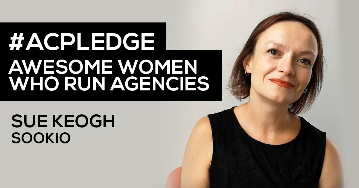 Sue Keogh founder of Cambridge based content agency Sookio