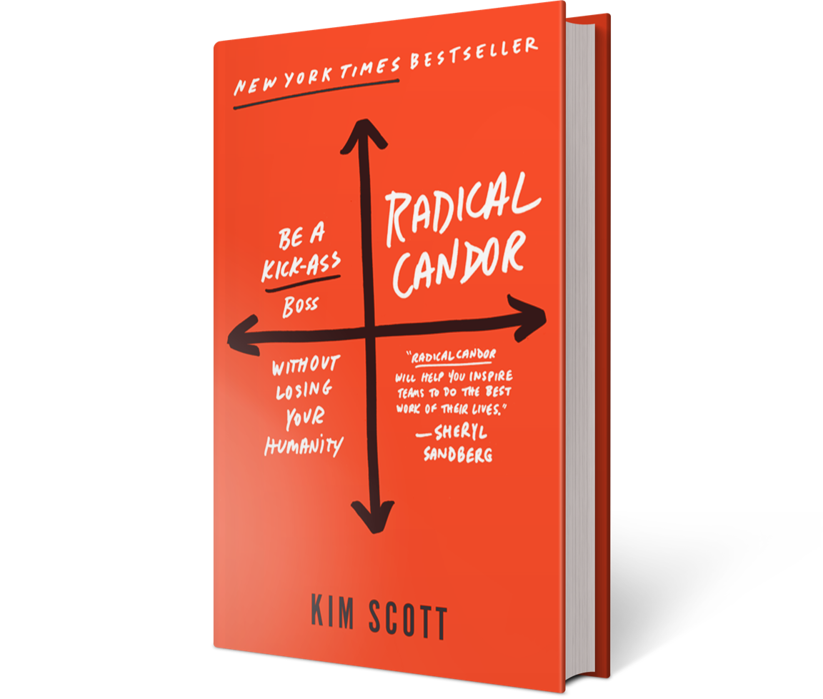 Former Google and Apple exec Kim Scott and her book Radical Candor