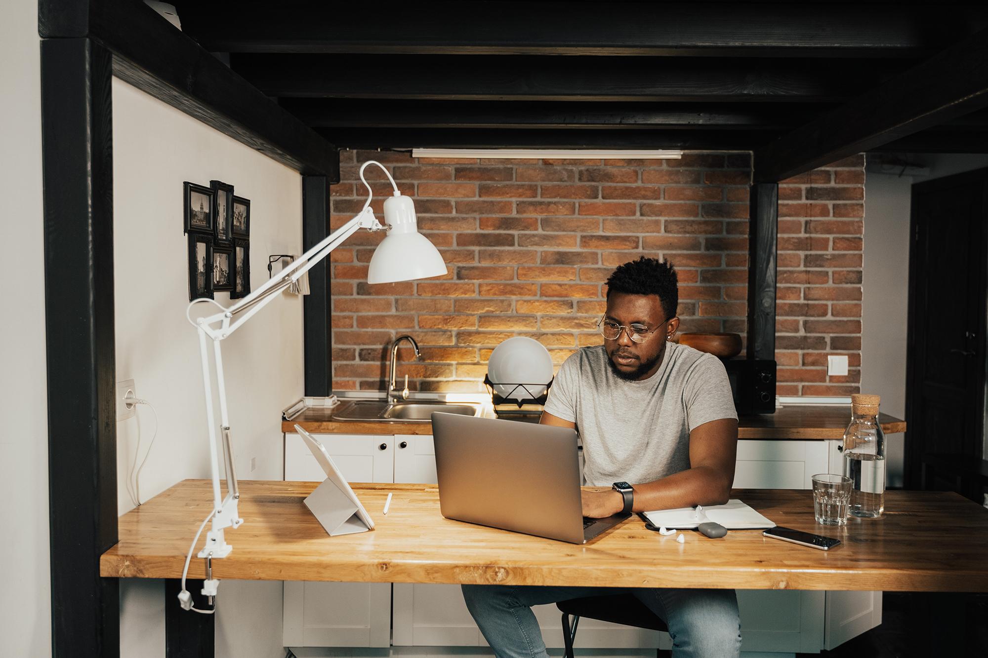 Working from home – advice from an ergonomics expert