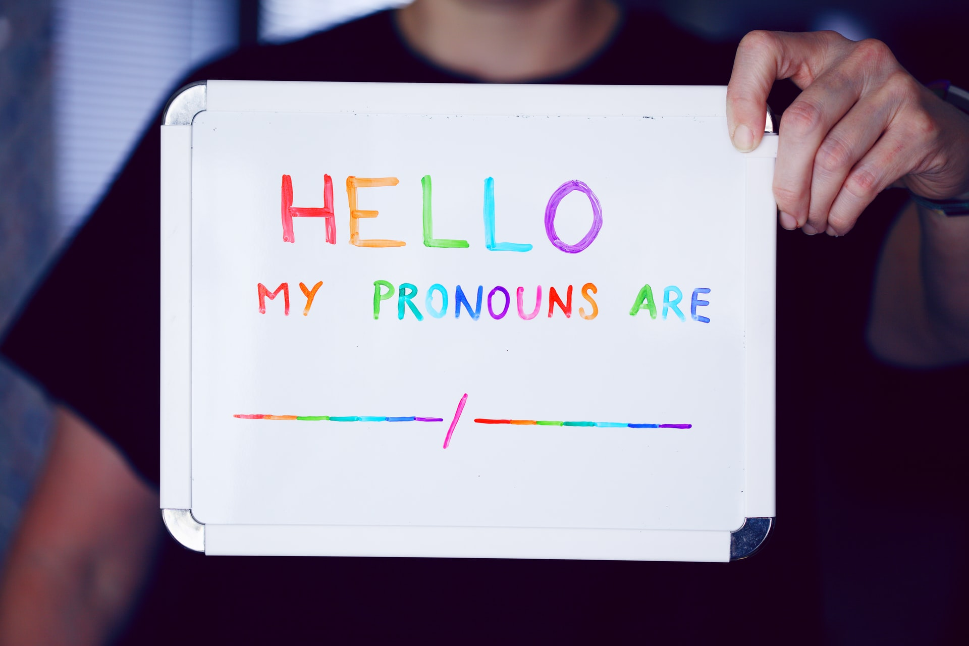 Why we encourage our team to add their pronouns